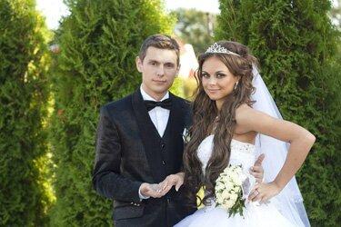 Елизавета Куксова с мужем