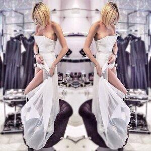 Вариант свадебного платья Элины Камирен