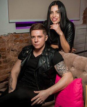 Вова Гаути и Лиза Шароха